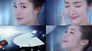 补水面膜化妆品视频素材下载
