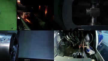 重工业生产车间视频素材下载