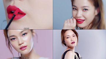 时尚口红视频素材