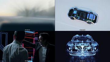 未来汽车视频素材