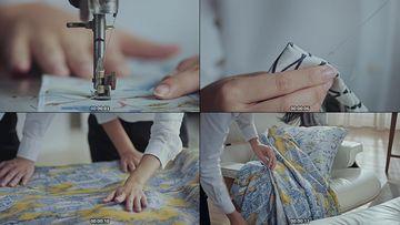 缝纫机视频素材