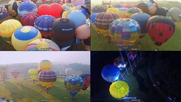 热气球视频素材
