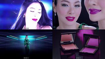 美妆时尚跳舞的美女视频