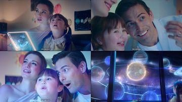 未来家庭视频素材