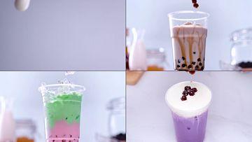 奶茶视频素材