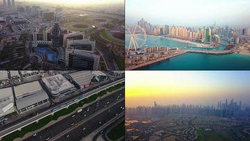 4K迪拜高楼大厦视频素材