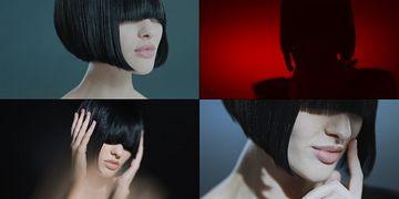 美发时尚发型视频素材
