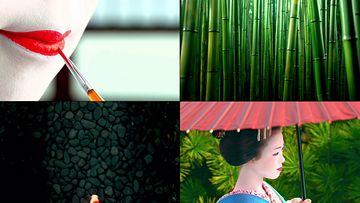 日本人文视频素材