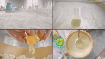 做面包视频素材