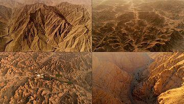4K干旱地形地貌视频素材