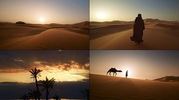 4K摩洛哥沙漠视频素材下载