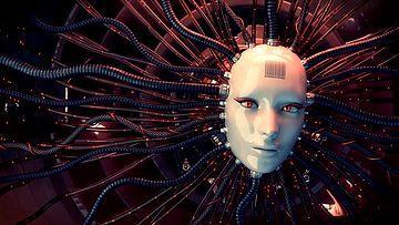 人工智能大脑动画视频素材