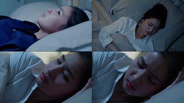 失眠视频素材