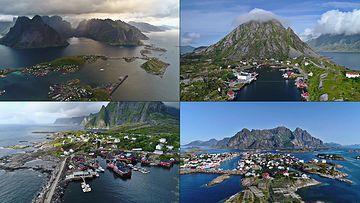 4K海岛城市视频素材