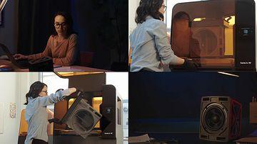 4K美女设计工程师视频素材