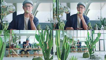 植物研究学家视频素材