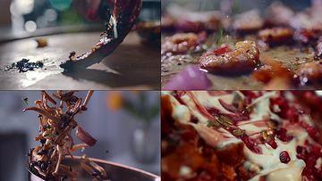 做菜美食视频素材