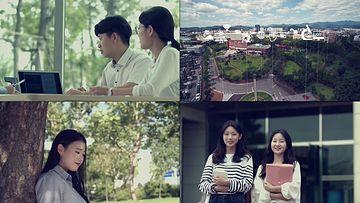 2K大学生微笑视频素材