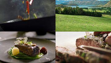 烤羊肉视频素材