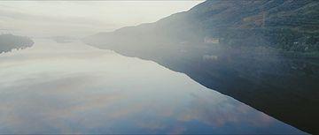 清澈的湖面视频素材