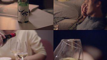 香槟视频素材