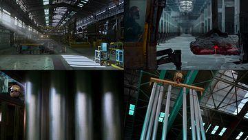重工业钢铁厂生产钢管