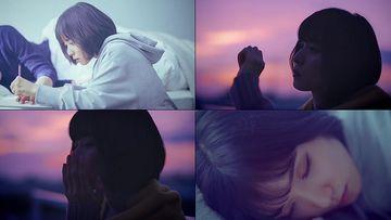 美女回忆做梦视频素材