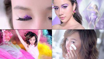眼妆的美女们视频
