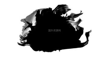 水墨通道视频素材004