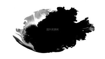 水墨通道视频素材010