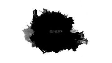 水墨通道视频素材28