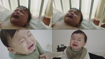 一直在哭的宝宝