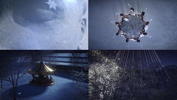 圣诞节跳舞的公主视频素材