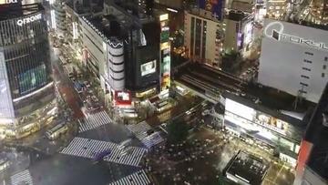 日本十字路口视频素材