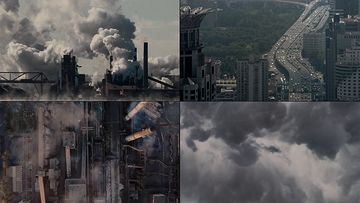 大气污染视频