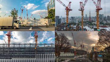 工业建筑房地产视频