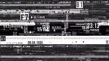 4K信号干扰视频素材04