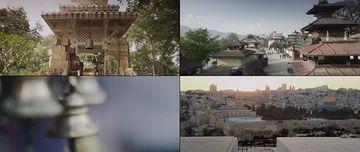 古老的建筑视频素材