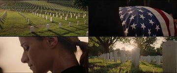 美国阿灵顿国家公墓视频素材