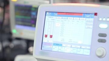 医疗设备心率监视器HCK视频