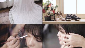 婚纱视频素材