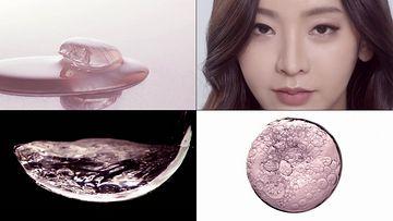 化妆品微量元素视频素材