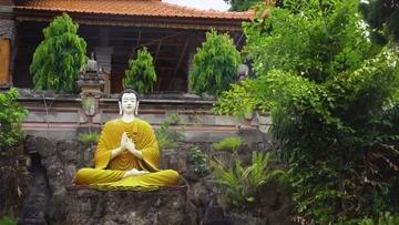 4K泰国佛像视频素材