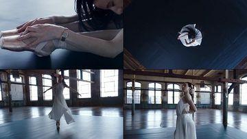 唯美的白裙子芭蕾舞