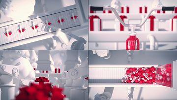 儿童节礼物生产线视频