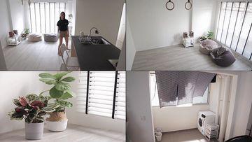 情侣的居家生活方式小公寓