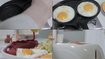 美味可口的早餐视频素材