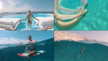 自由自在的生活方式潜水