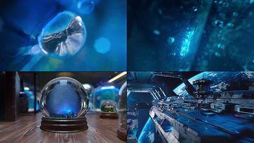 CGI动画未来之城