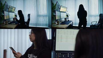 亚裔金融分析师的一天